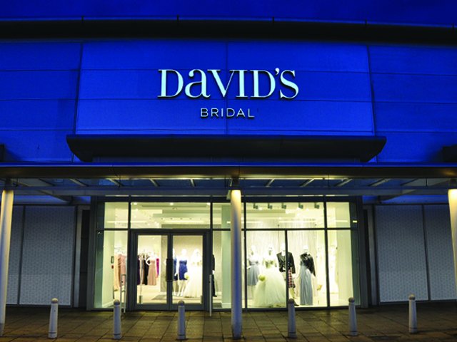 David's Bridal Glasgow, UK