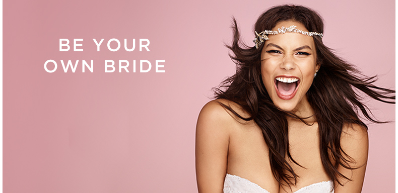 Be Your Own Bride, our philosophy