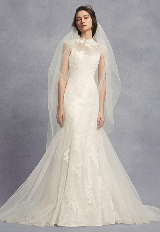Wedding dresses bridal gowns davids bridal white by vera wang junglespirit Gallery