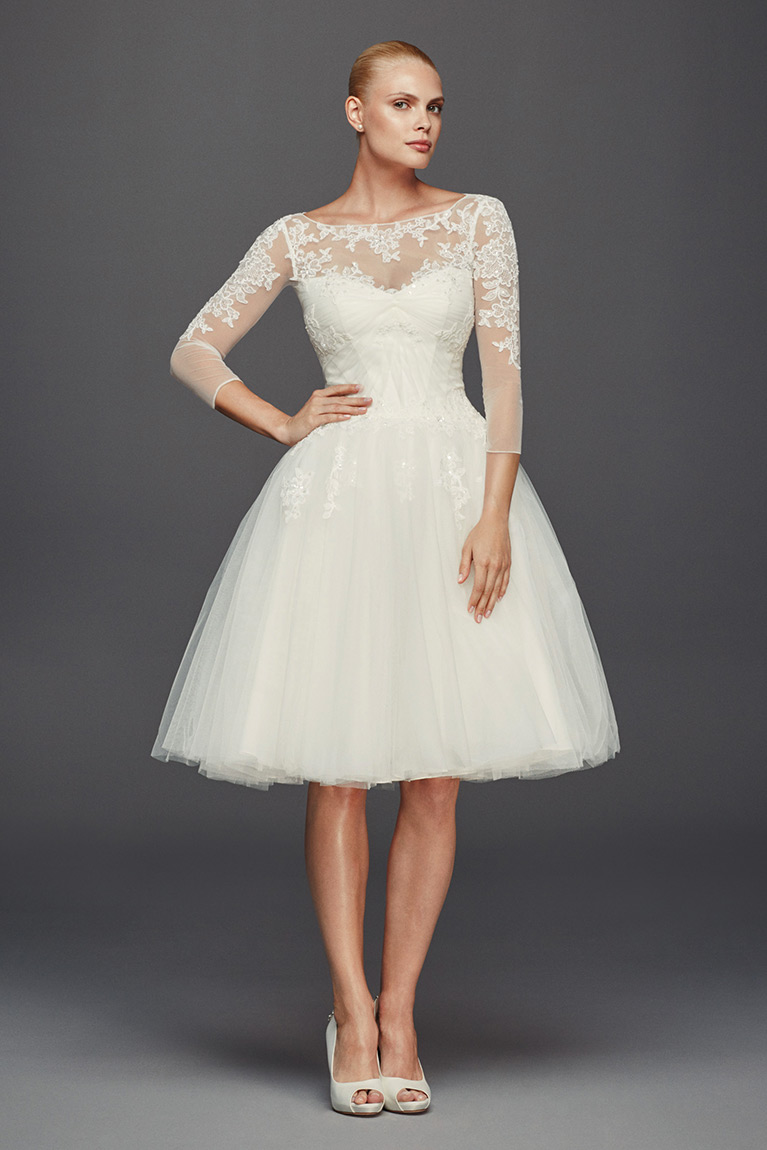 Wedding dresses bridal gowns david 39 s bridal for Davidsbridal com wedding dresses