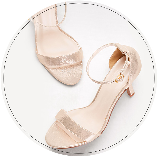 Gold Bridesmaid Shoes