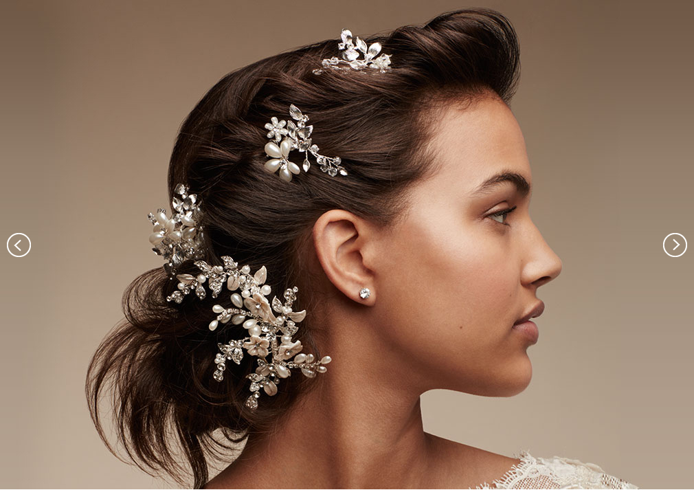 PINS & COMBS | David's Bridal Hair Accessories
