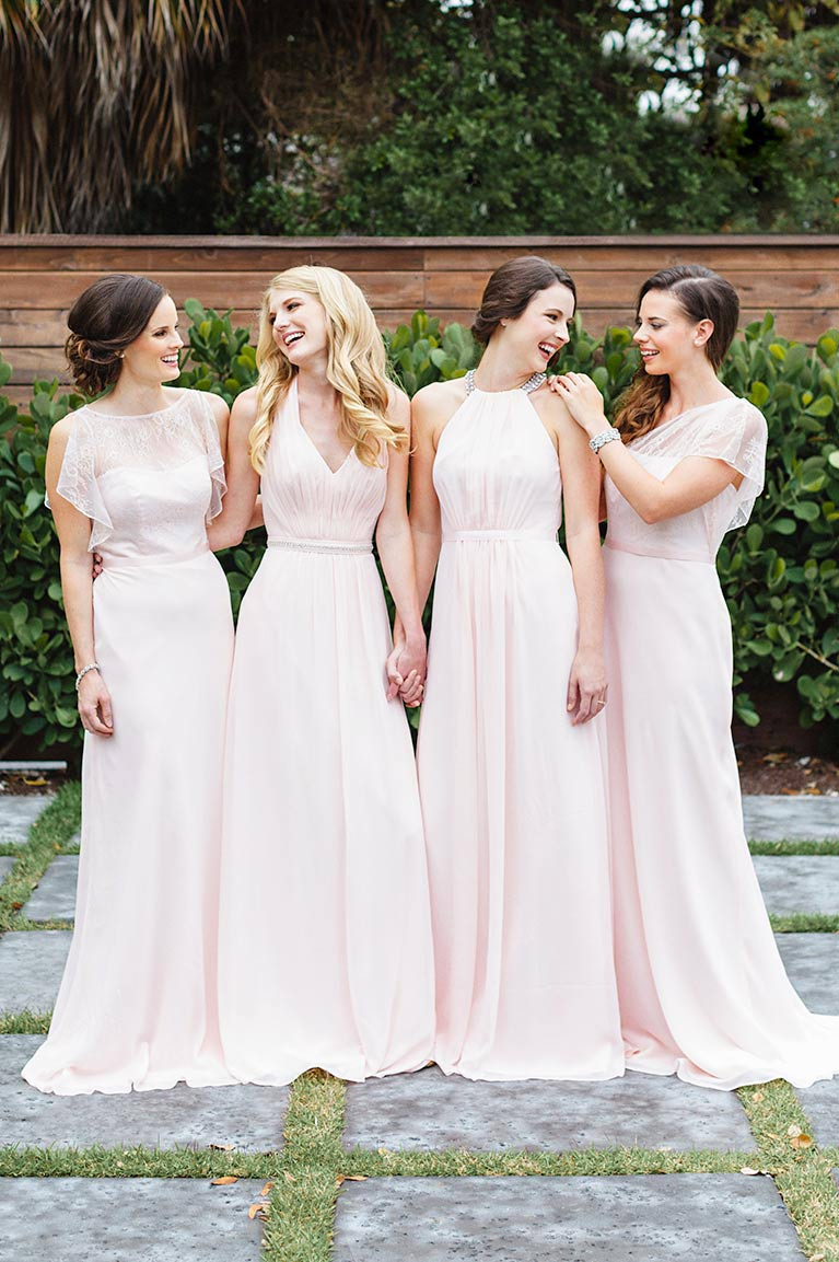 19172dcf23f2 Mismatched Bridesmaid Dress Styles | David's Bridal