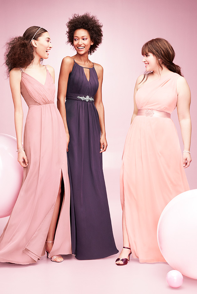 Ombre Bridesmaid Dress Inspiration
