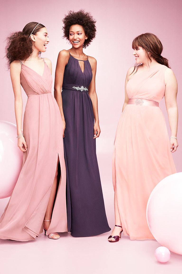 Mismatched Bridesmaid Dress Styles | David\'s Bridal