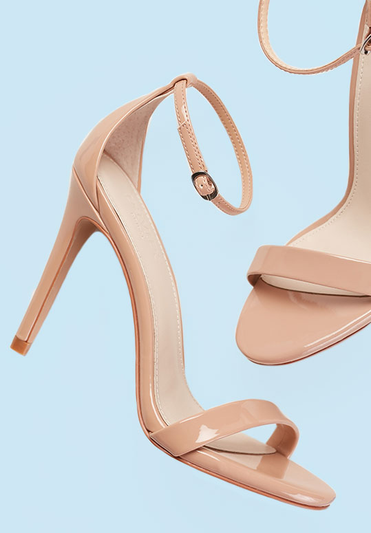 Nude High Heels | David's Bridal